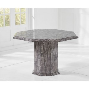 Venezia Marble Dining Table Octagonal In Grey