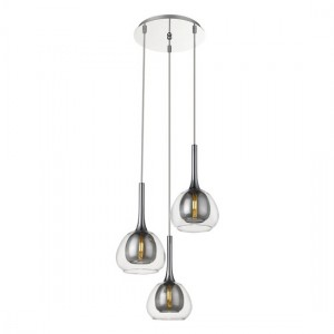 Adhara Decorative Luminaire In Smoked Grey