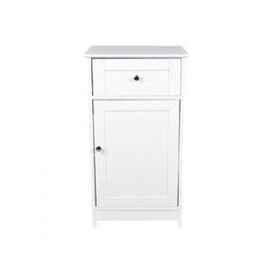 Alaska Wooden Low Storage Cabinet In White