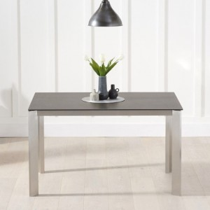 Alejandra Spanish Ceramic Dining Table In Mink