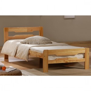Amelia Wooden Single Bed In Antique Pine