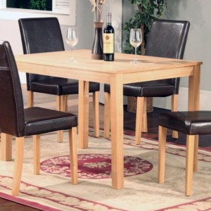 Ashdale Wooden Dining Table In Ash Veneer