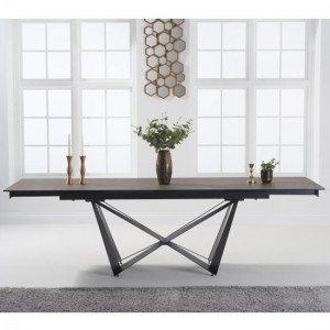 Benjamin Extending Marble Dining Table In Mink