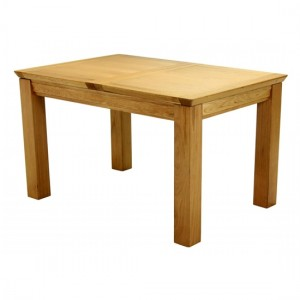 Breton Small Extending Wooden Dining Table In Natural