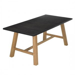 Brooklyn Wooden Dining Table Grey And Oak