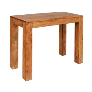 Carnival Wooden Console Table In Light Oak