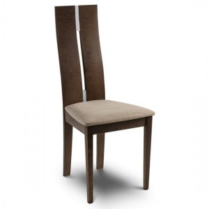 Cayman Wooden Dining Chair In Walnut