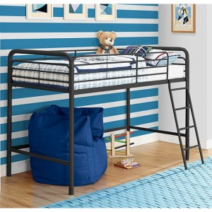 Chadre Midsleeper Single Bunk Bed In Black