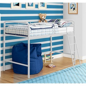 Chadre Midsleeper Single Bunk Bed In White