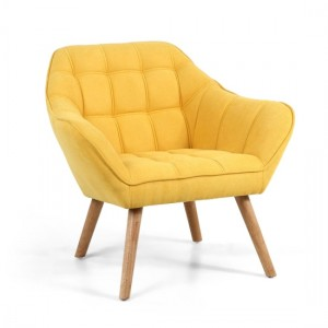 Coral Studio Chair In Sunny Yellow