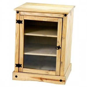 Corona Display Unit Unit In Distressed Pine