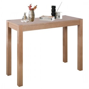 Cyprus Wooden Console Table In Natural Ash