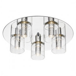 Enif Round Luminaire Wall Light In Chrome