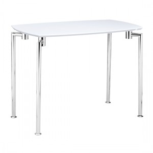 Fiji Wooden Console Table In White High Gloss