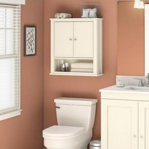 Franklin Bathroom Wall Hung Storage Cabinet In White