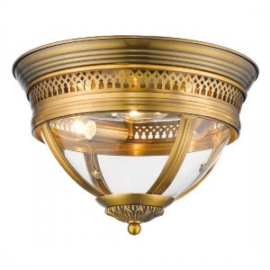 Felixvarela Luminaire Ceiling Light In Brass