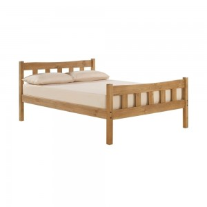 Havana Wooden Single Bed In Pine