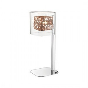 Heze Luminaire Floor Lamp In Chrome And Copper
