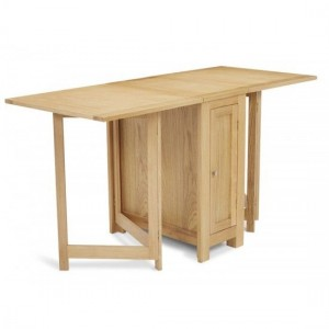 Hounslow Wooden Dining Table With Oak Gate Leg