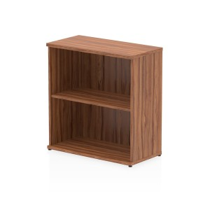 Impulse Bookcase 800 In Walnut Finish