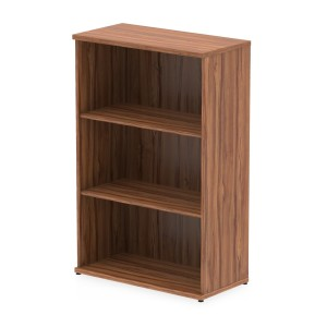 Impulse Bookcase 1200 In Walnut Finish