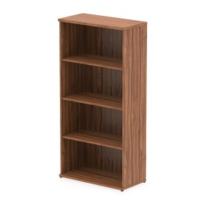 Impulse Bookcase 1600 In Walnut Finish
