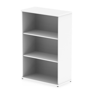 Impulse Bookcase 1200 In White Finish