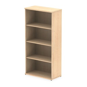 Impulse 1600 Bookcase In Maple Finish