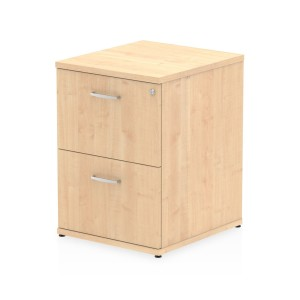 Impulse Filing Cabinet 2 Drawer Maple