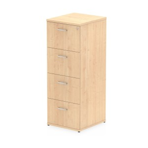 Impulse Filing Cabinet 4 Drawer Maple