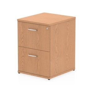 Impulse Filing Cabinet 2 Drawer Oak
