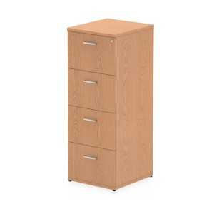 Impulse Filing Cabinet 4 Drawer Oak