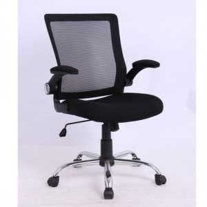 Imola Mesh Fabric Home And Office Chair In Black