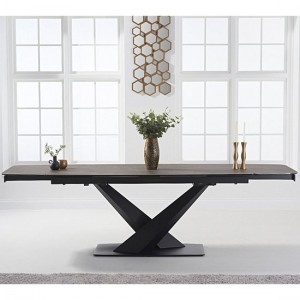 Jack Extending Marble Dining Table In Mink