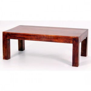 Jaipur Wooden Coffee Table In Acacia