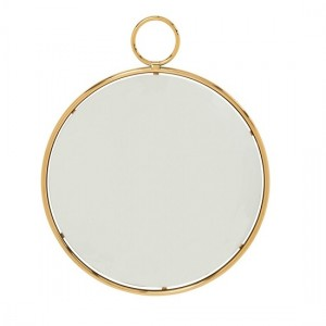 Kai Large Wall Mirror In Gold Frame