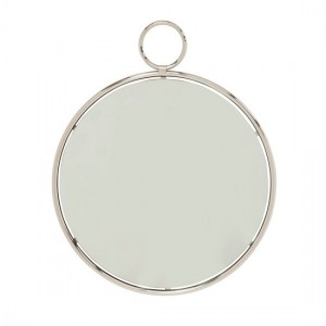 Kai Large Wall Mirror In Silver Frame