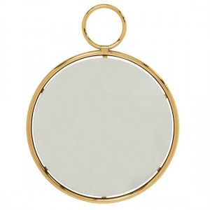 Kai Medium Wall Mirror In Gold Frame