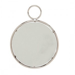 Kai Medium Wall Mirror In Silver Frame