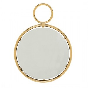 Kai Small Wall Mirror In Gold Frame