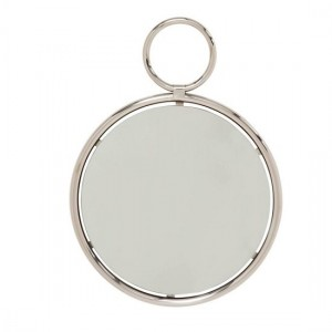 Kai Small Wall Mirror In Silver Frame