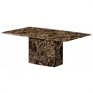 Kiev Marble Coffee Table In Natural Stone