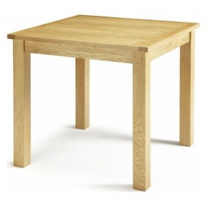 Lambeth Wooden Dining Table In Oak