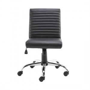 Lane Faux Leather Operator Office Chair In Black