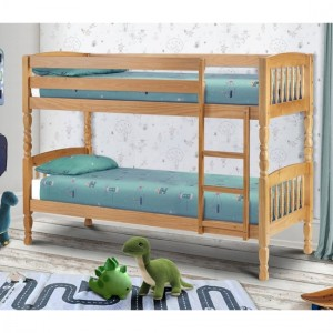 Lincoln Wooden Bunk Bed In Pine