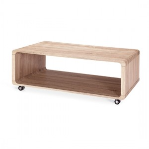 Linden Wooden Coffee Table In Natural