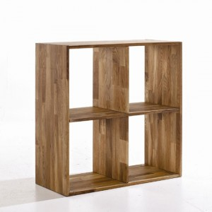 Maximo Wooden 4 Cube Divider In Oak