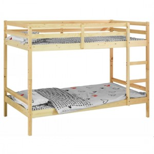 Mecor Wooden Bunk Bed In Pine