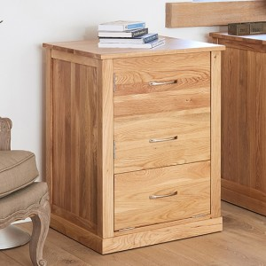 Mobel Wooden Printer Storage Cabinet In Oak