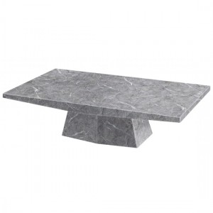 Multan Marble Coffee Table In Natural Stone And Lacquer